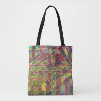 Comfortable Crimson Tote Bag
