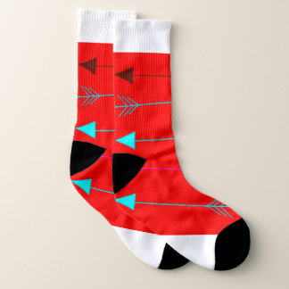 Comfortable Red Arrow Socks