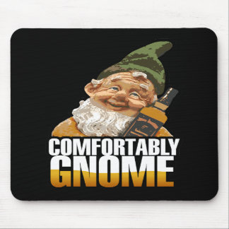 Comfortably Gnome $13.95 Mouse Pad