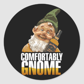 Comfortably Gnome $7.95 Stickers (20 pack)