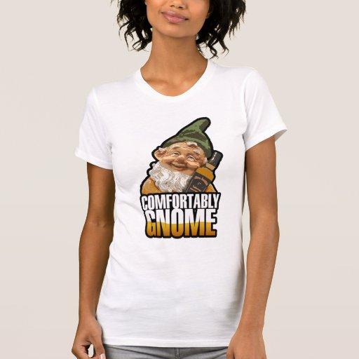 Comfortably Gnome Tee Shirts