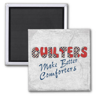 Comforting Quilters 2 Inch Square Magnet
