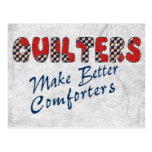 Comforting Quilters Postcard