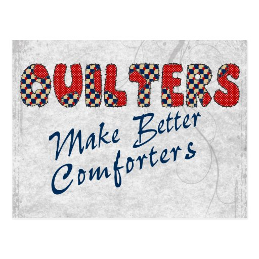 Comforting Quilters Post Card