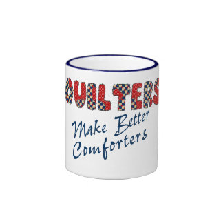 Comforting Quilters Ringer Mug