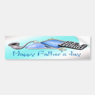 Comforts of Home - Happy Father's Day Bumper Stick Bumper Sticker