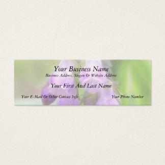 Comfrey Flowers Mini Business Card