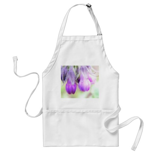 Comfrey Herb - Flowers Adult Apron
