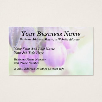 Comfrey Herb - Flowers Business Card