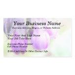 Comfrey Herb - Flowers Business Card Templates