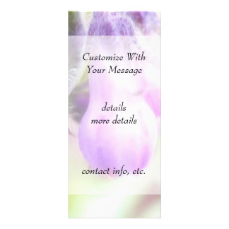 Comfrey Herb - Flowers Rack Card