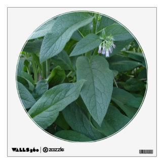 Comfrey Plant with Flowers Wall Decal