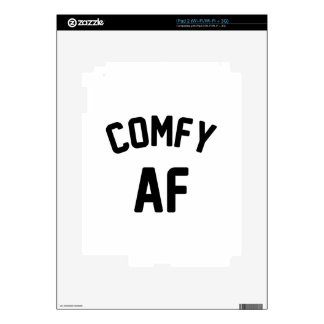 Comfy AF Decal For iPad 2