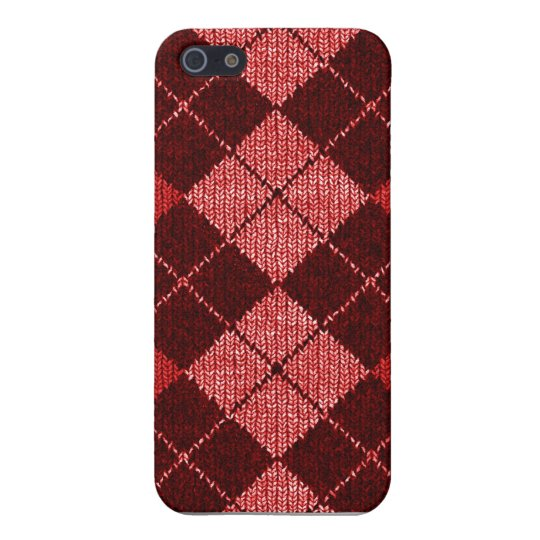 Comfy Argyle Look iPhone4 Case