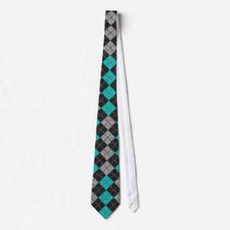 Comfy Argyle Sweater Necktie