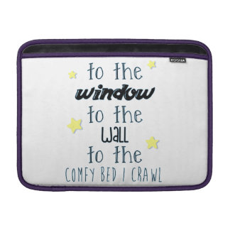 Comfy Bed, Funny Sleeping Quote MacBook Sleeve