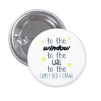 Comfy Bed, Funny Sleeping Quote Pinback Button