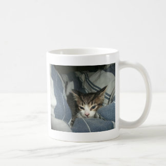 Comfy Kitten Coffee Mug