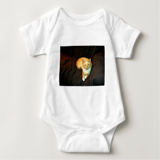 Comfy Kitty Baby Bodysuit