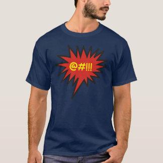 Comic Angry Talk Bubble Expletives T-Shirt