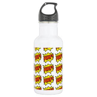 Comic 'Arf!' Water Bottle