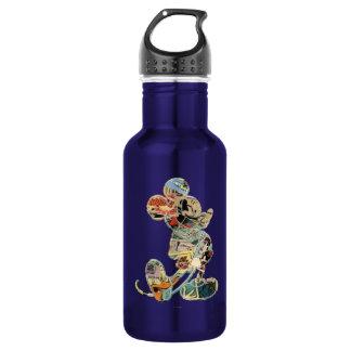 Comic Art Mickey Mouse 18oz Water Bottle