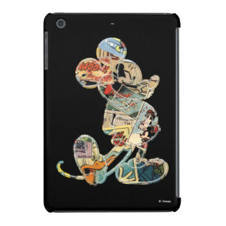 Comic Art Mickey Mouse iPad Mini Cases