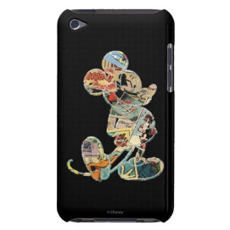 Comic Art Mickey Mouse iPod Touch Case