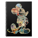 Comic Art Mickey Mouse Spiral Notebooks