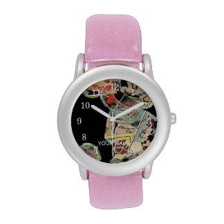 Comic Art Mickey Mouse Wrist Watches