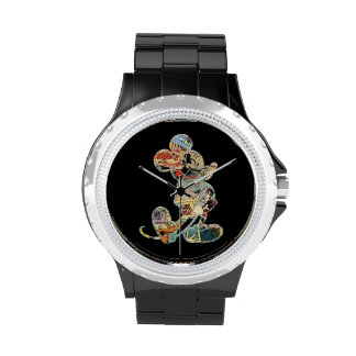 Comic Art Mickey Mouse Wristwatches