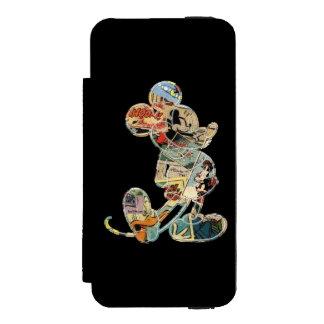 Comic Art Mickey Mouse Incipio Watson™ iPhone 5 Wallet Case