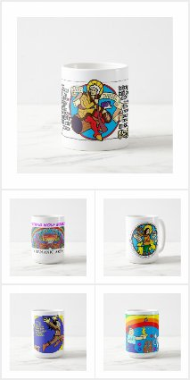 Comic Art Mugs