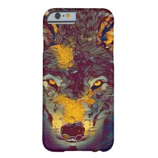 Comic Art Wolf Wildlife Artwork iPhone 6/6s Case