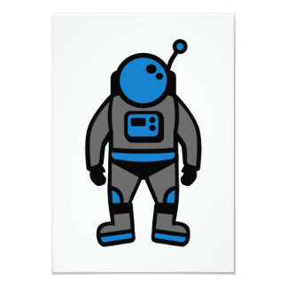 Comic astronaut card