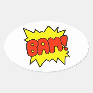 Comic Bam Stickers