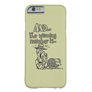Comic Bingo Green Barely There iPhone 6 Case