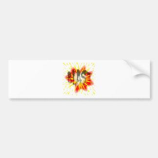 Comic Blast Bumper Sticker