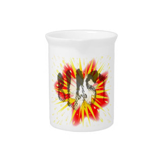 Comic Blast Drink Pitcher