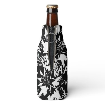 adamfahey Comic book actions bottle cooler