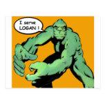 Comic Book Art Post Cards