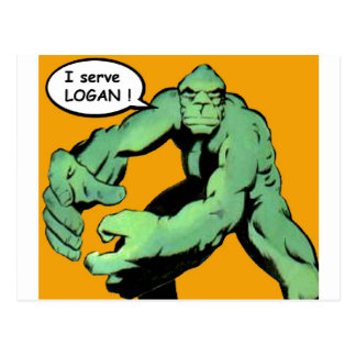 Comic Book Art Postcard