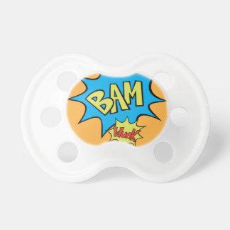 """Comic Book """"Bam"""" Balloon Pacifier"""
