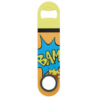 "Comic Book ""Bam"" Balloon Speed Bottle Opener"