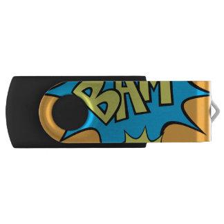 """Comic Book """"Bam"""" Balloon USB Flash Drive"""