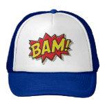 comic book bam! hats