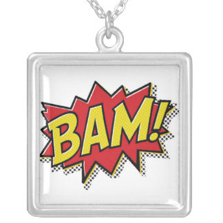 comic book bam neckless jewelry