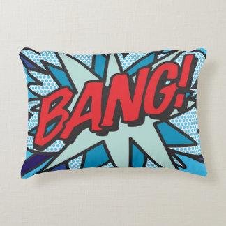 Comic Book BANG! accent pillow cushion