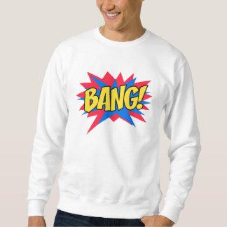 Comic book BANG Pull Over Sweatshirt