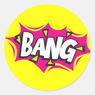 Comic Book Bang Sticker